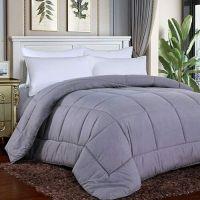 All Season Ultra Soft Breathable Premium Hypoallergenic Reversible Down Alternative Comforter Duvet Insert with Corner Tabs